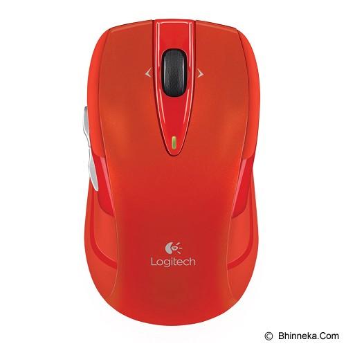 LOGITECH Wireless Mouse M545 [910-004100] - Red - Mouse Desktop